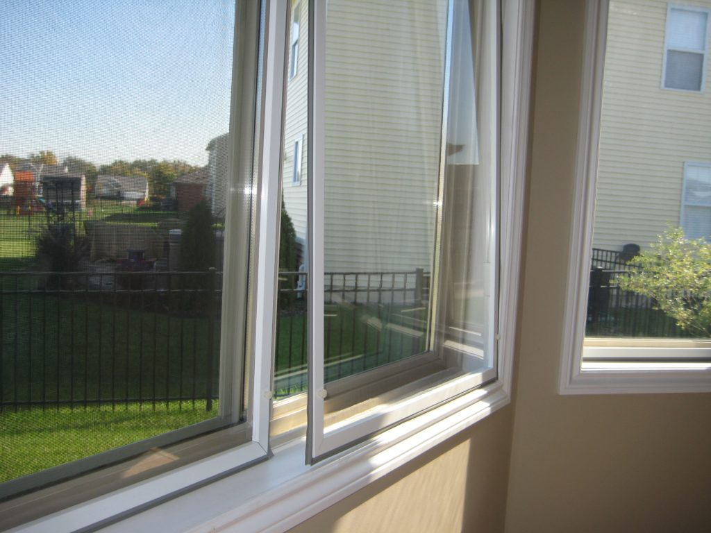 Standard window insulation panels vinyl pane ez storm for Vinyl insulated windows